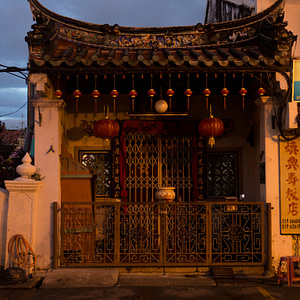 Malacca twilight