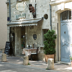 Simple meal, Avignon
