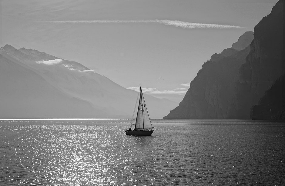 The unhurried pace of life / Lake Garda