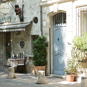Simple meal, Avignon